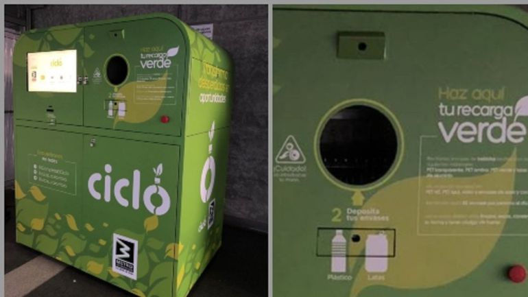 METRO, RECARGA VERDE, BOTELLAS PLÁSTICAS, RECICLAJE: Un millón de botellas recicladas con recarga verde del Metro
