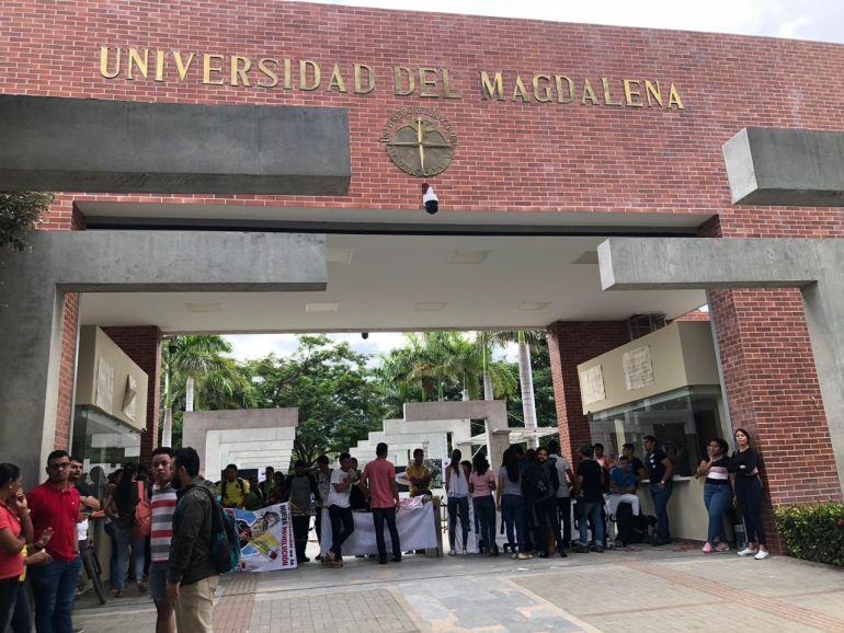 En paro más de 16 mil estudiantes de la Universidad del Magdalena
