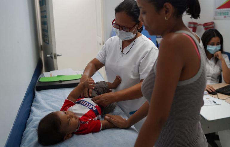 Vacunación: Casa a casa vacunarán a niños contra la sarampión en Barranquilla