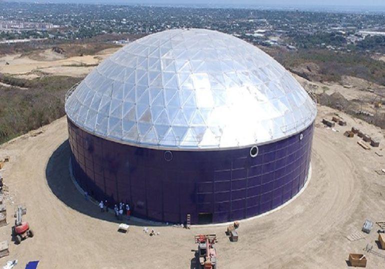 Megatanque de Barranquilla: Asignan $5 mil millones para estabilizar base del Megatanque