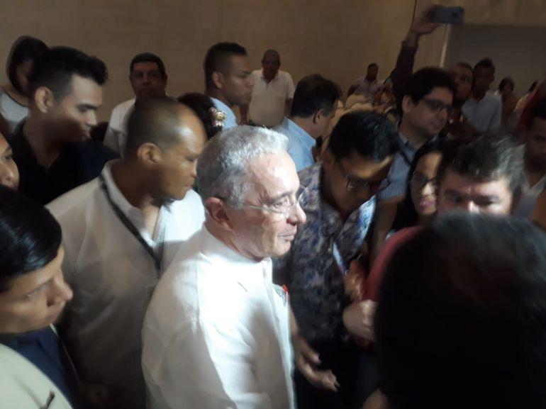 Senador Alvaro Uribe.