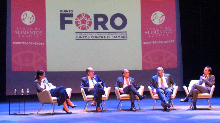 ¡Juntos contra el hambre!: Bogotá acoge el V Foro de Sostenibilidad