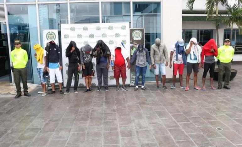 Bandas criminales: Capturados integrantes de la Banda 'Los Tubos' en Cali