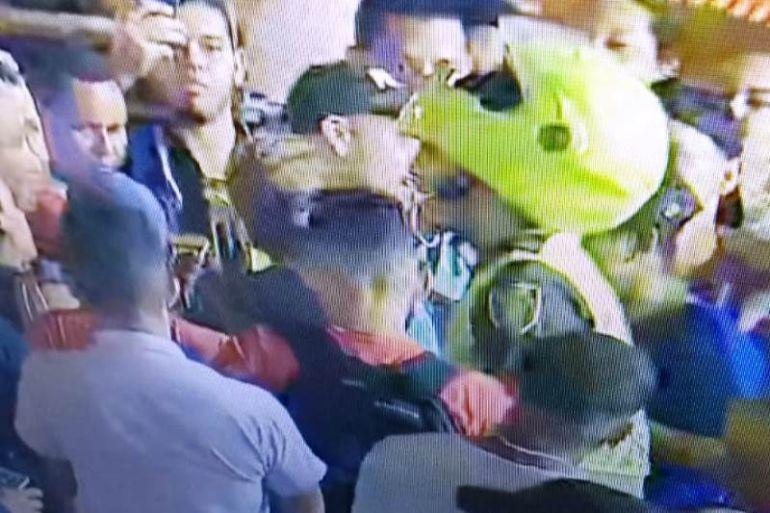 Cámaras de vigilancia de Transcaribe permitieron detención de atracadores: Cámaras de vigilancia de Transcaribe permitieron detención de atracadores