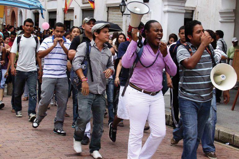 Universidad de Cartagena se fue a paro: Universidad de Cartagena se fue a paro