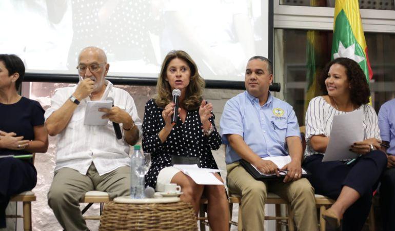 """Gobierno Nacional alcaldía de Cartagena: Vicepresidencia y alcaldía iniciaron taller """"Pacto por Cartagena"""""""