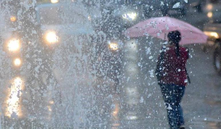 Lluvias en la región.