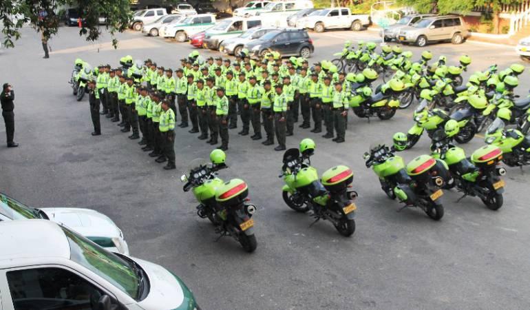 Policía de transito.