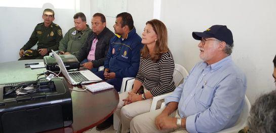 Vicepresidenta Martha Lucía Ramirez en Marquetalia