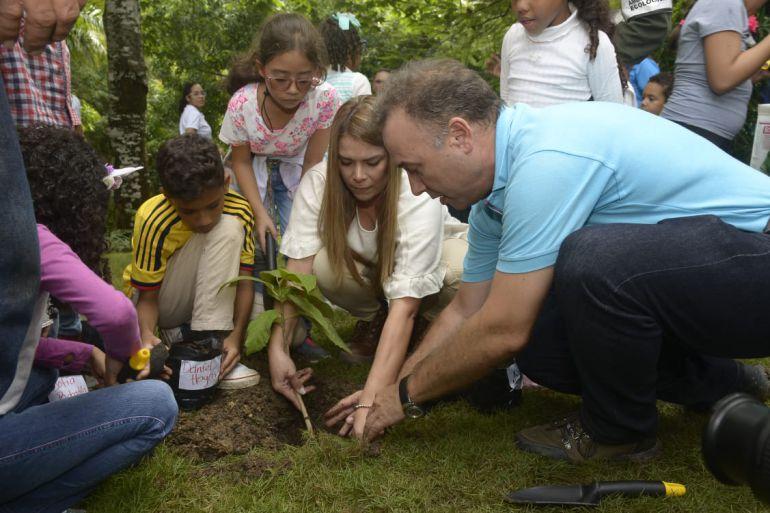 Recuperaión ambiental de Cartagena: Aguas de Cartagena y alcaldía buscan recuperar zonas verdes de la ciudad