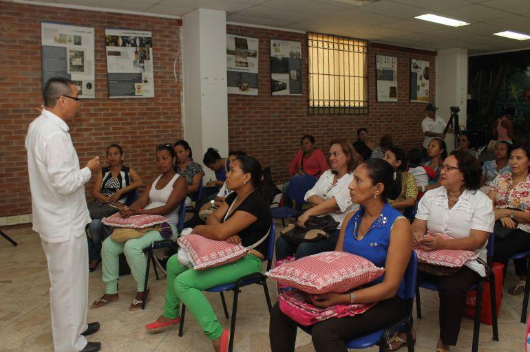 Mujeres ni una más en Cartagena: Adelantan procesos de formación para mujeres vulnerables en Cartagena