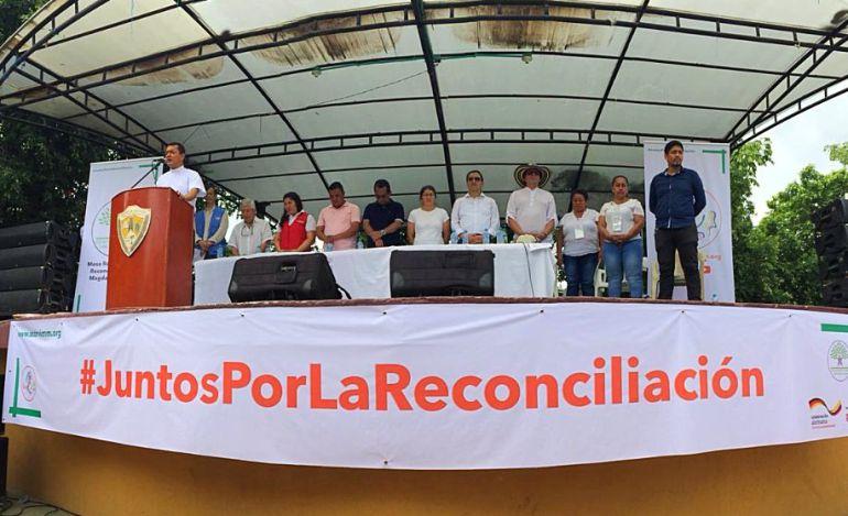 Farc misión ONU Colombia: Farc adelanta jornada de reconocimiento y perdón en el sur de Bolívar