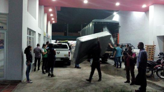 Ayudas humanitarias, Marquetalia, Cruz Roja, Gestión del Riesgo: En Marquetalia ya se entrega ayudas humanitarias