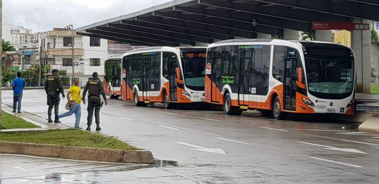 Accidentes de tránsito en Cartagena: Transcaribe adelanta jornada de seguridad vial en el Patio Portal