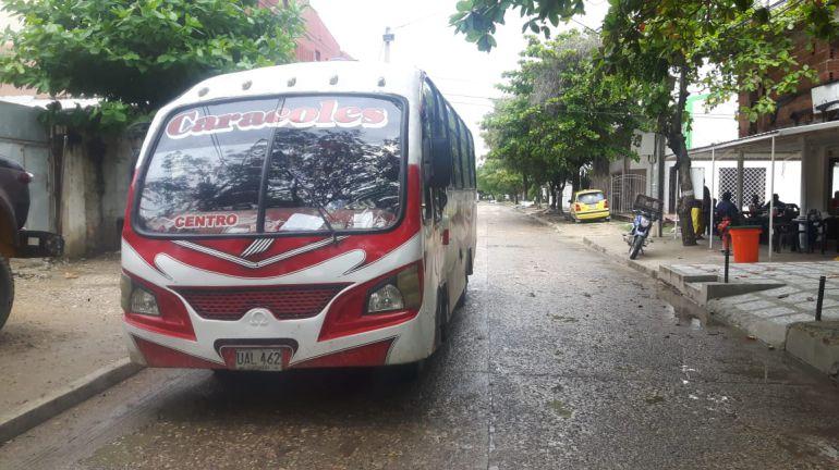 Transporte público en Cartagena: Restablecen ruta de busetas en El Campestre, Cartagena