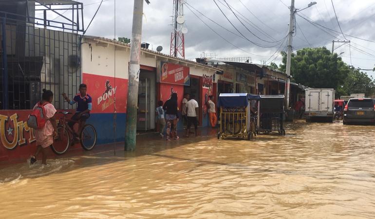Más de 64.000 afectados por inundaciones en la frontera colombo-venezolana