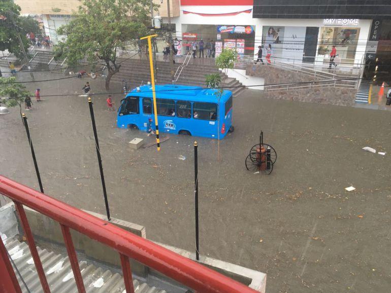 Declararan calamidad pública en Santa Marta por el invierno