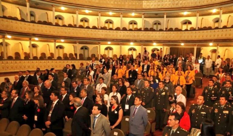 Corte suprema de justicia sesionó en Cauca