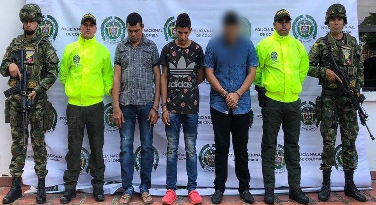 Captura integrantes del Clan del Golfo: Capturan en Córdoba a tres presuntos integrantes del Clan del Golfo