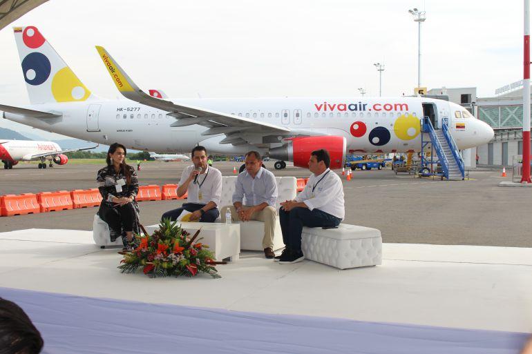 Viva Air estrena su tercera base de operaciones en Colombia
