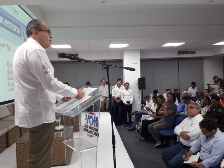 Las declaraciones del Procurador General de la Nación se dieron en un foro ambiental organizado por Hoy Diario del Magdalena.