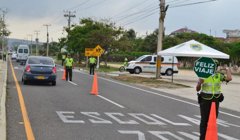 Movilidad en La Línea: Un dispositivo especial durante el Puente Festivo en la vía a La Línea