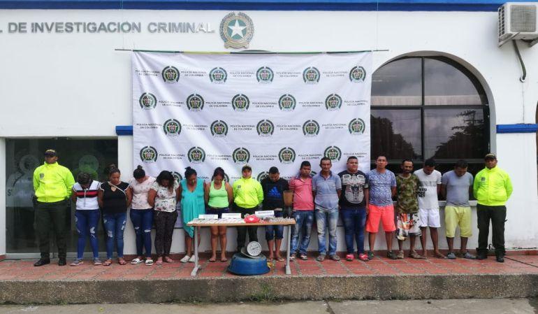"Policía de Montería desarticula banda criminal ""Los Chechenos"