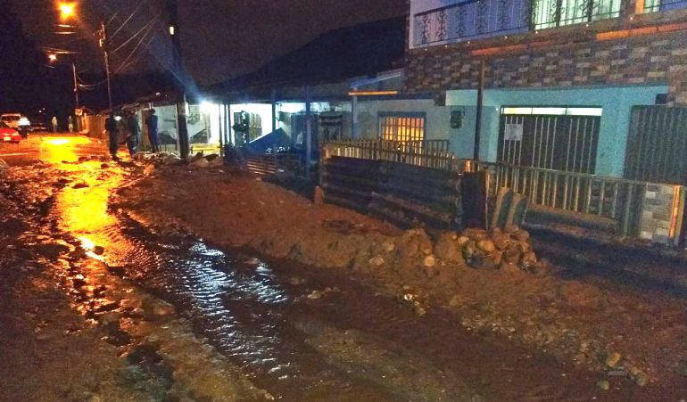 80 personas afectadas en zona rural de Pereira por inundaciones