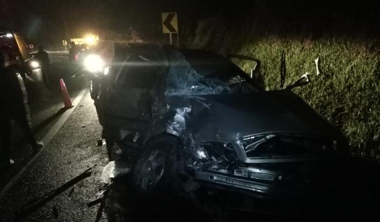 Accidentes de tránsito: Madre e hija de 3 meses mueren en accidente de tránsito en La Panamericana