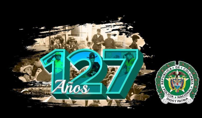 Policía Nacional, Colombia, Fuerzas millitares: 127 años celebra la policía nacional en caldas se realizarán actividades