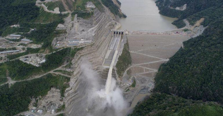 HIDROITUANGO; EPM; VERTEDERO; EXPERTOS: Con lo del vertedero, Hidroituango ya está salvada en un 50%: Expertos