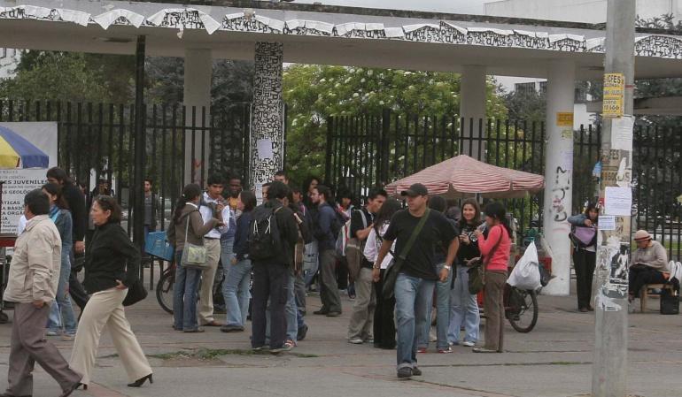Estudiantes Universidad Nacional: Universidad Nacional rechaza toma de estudiantes a edificio administrativo