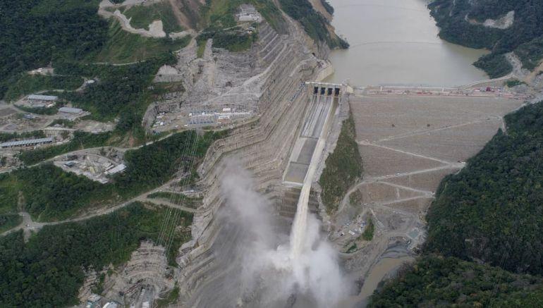Hidroituango: Hidroituango abrirá sus otras tres compuertas del vertedero