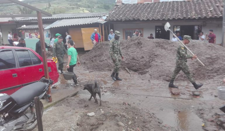 Declaran alerta roja en Pereira por posibles deslizamientos de tierra