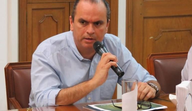 Carlos Luna, Presidente Cámara de Comercio