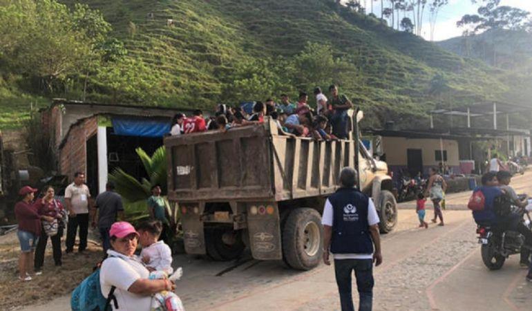 Desplazados de Hacarí