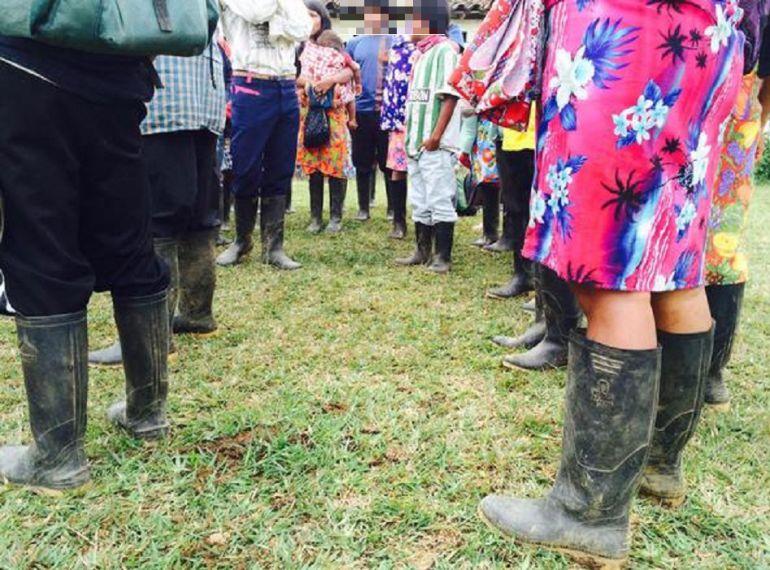 QUEJAS, INDÍGENAS, OIA, GOBERNADOR, ANTIOQUIA, ESTADO, AMENAZAS: El gobernador es irresponsable al señalar a las comunidades indígenas: OIA