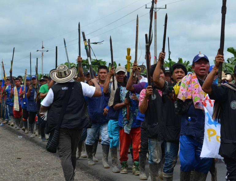AMENAZAS, INDÍGENAS, ANTIOQUIA, INTIMIDACIONES, LíDER: Consejero indígena denunció amenazas en su contra