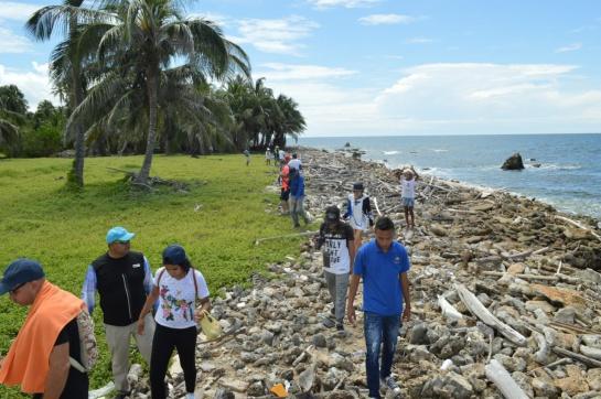 Isla Tortuguilla, una joya que emerge de la contaminación
