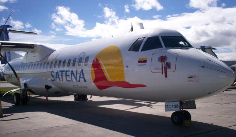 Satena Pasto - Bogotá: Satena dejara de operar la ruta Pasto - Bogotá desde el mes de enero