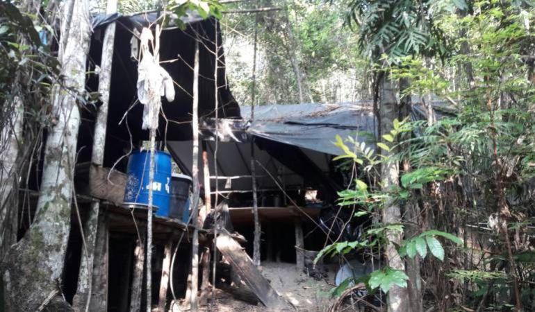 Autoridades hallaron un laboratorio de heroína en zona rural de Pereira
