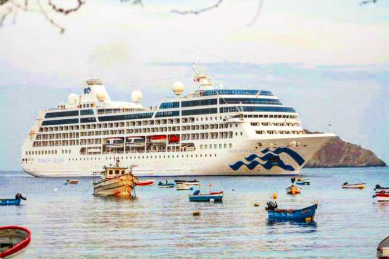 En cruceros llegaron cerca de 5.000 turistas a Santa Marta