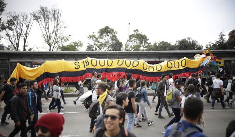 Paro estudiantil: Por disturbios judicializarían a promotores de marchas estudiantiles