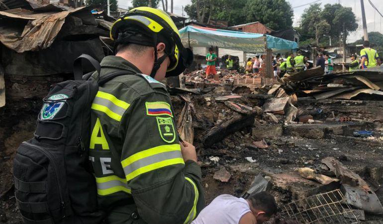 INCENDIO NUEVO HORIZONTE: Afectados por incendio en Nuevo Horizonte no han recibido subsidios