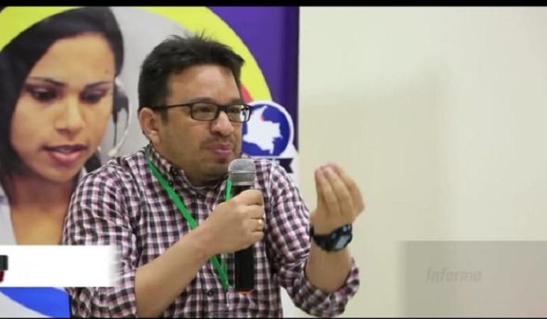 """Mario Zambrano, Director de """"Cúcuta Cómo Vamos""""."""