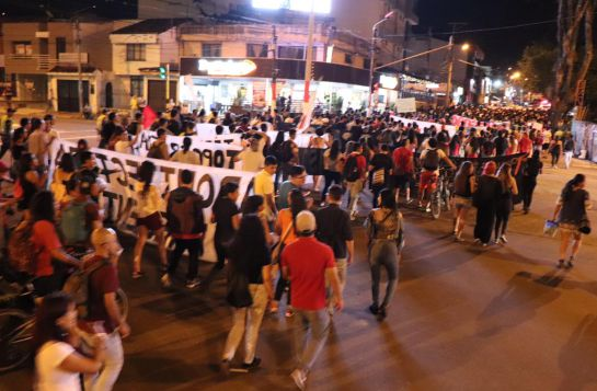 Movilizaciones estudiantiles.: Nuevas movilizaciones de estudiantes de la universidad del Tolima