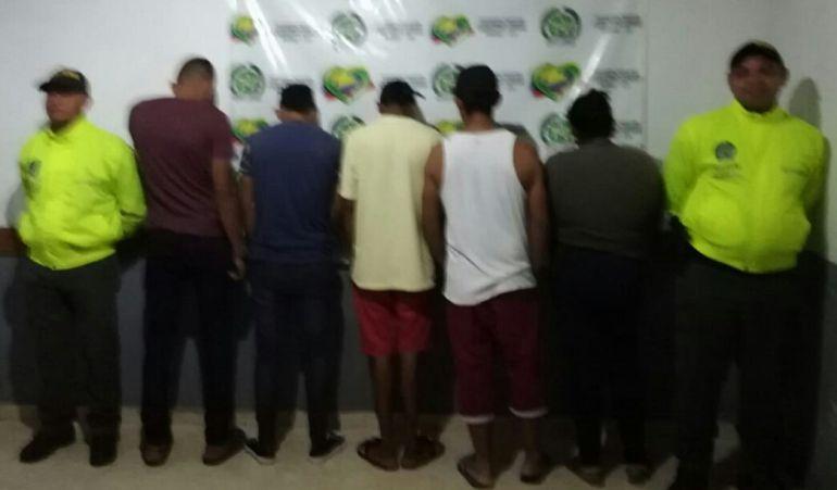 """Caen seis integrantes de la banda """"Los Junior"""" en El Carmen de Bolívar: Caen seis integrantes de la banda """"Los Junior"""" en El Carmen de Bolívar"""
