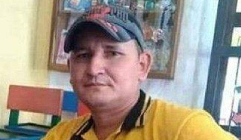 Luis Tarazona Salamanca, coordinador de comité veredal de ASCAMCAT