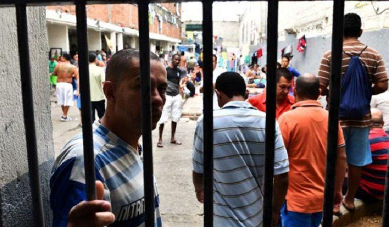 Presos venezolanos en cárceles del país
