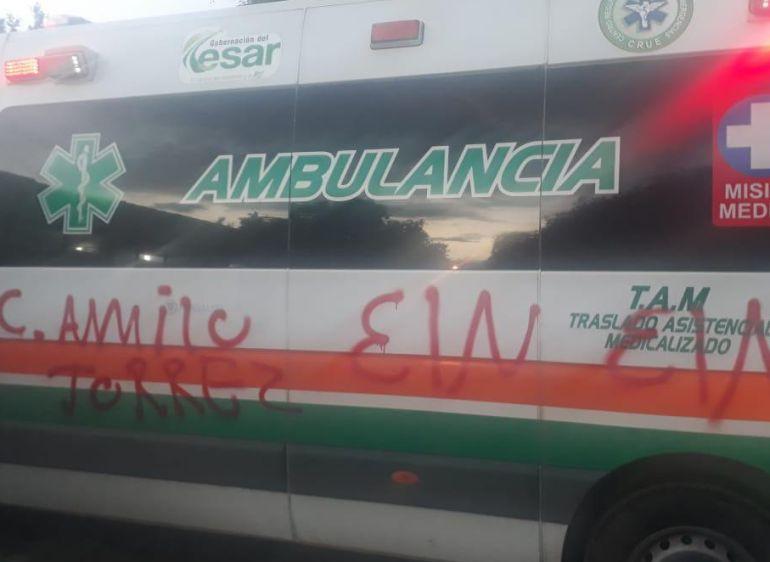 Ataques terroristas: Heridos por ataques del ELN se recuperan en clínicas de Valledupar